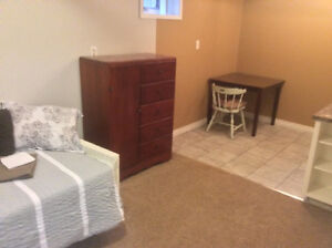 Furnished One Bedroom Separate Entrance Suite Available