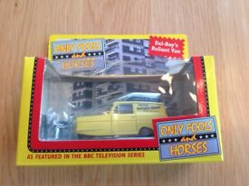 Die cast car LLEDO 1:43 only fools and horses van