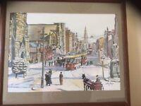 Belfast scene. Print...