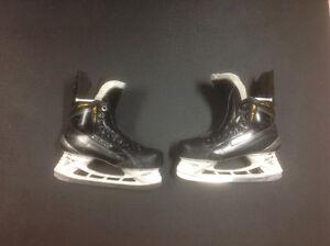 Blademaster skate sharpener sharpening machine & Bauer MX3 skate