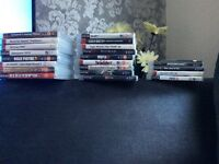 PlayStation 3 sl 120gb with 2 controllers and 20+ games