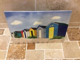 Beach huts pictures