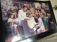 "Large Movie Stars Litho Poster printed 1993 ""Play it again"""