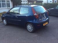 Fiat punto 1.2 model 2005 active 70,000 miles 1 owner from new ford seat PEUGEOT kia Vauxhall