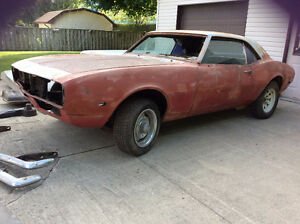 '68 Camaro Project - REDUCED PRICE