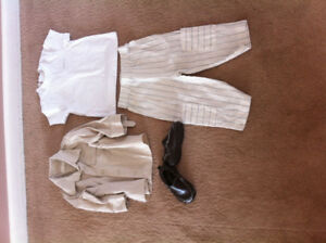 12 month outfit and shoes