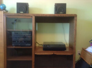 Entertainment Cabinet - Solid wood ($125)