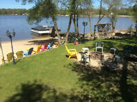 Water Front Cabin Rental on Netley Creek with HOT TUB
