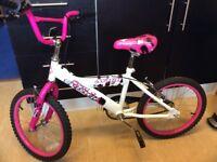 Girls BMX bike