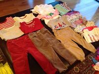 Girls 18-24 month, pants, leggings and t-shirts