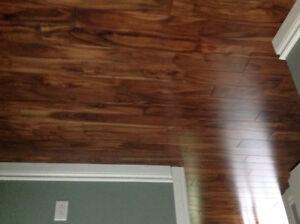 Solid Hardwood Flooring - 3/4 inch Acacia Walnut