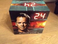 24 The Complete - Seasons 1- 6 - DVDs - Kiefer Sutherland