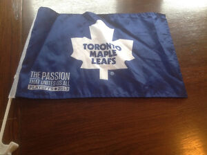 2013 TORONTO MAPLE LEAFS NHL PLAYOFFS CAR FLAGS