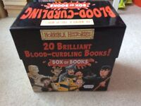 Horrible Histories a box of 20 brilliant blood curdling books