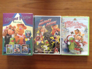 5 Muppet DVD's-  New in Box