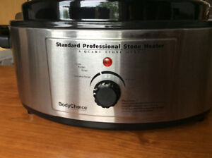 6 QUART PROFESSIONAL MASSAGE STONE HEATER + TEMP CONTROL
