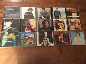 15 CDs for $10 Country CD Collection