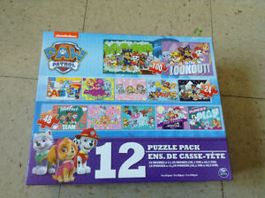Paw patrol puzzle set (NEW)