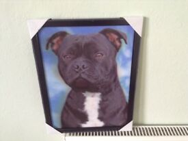 New 3D picture in frame.
