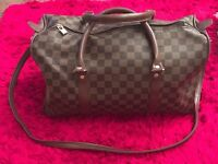 Small Brown Holdall