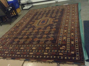 Large Hand Knotted Wool Carpet Area Rug