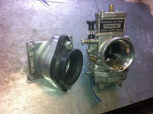 Rare Boswell carb and billet rad valve yamaha yz 125 moded carb