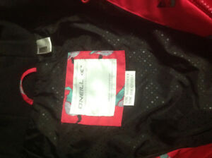 Girls O'Neill Ski Jacket - Size 16 - Like New!
