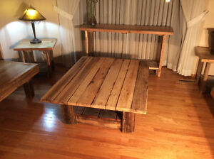 Coffee table ,reclaimed wood furniture