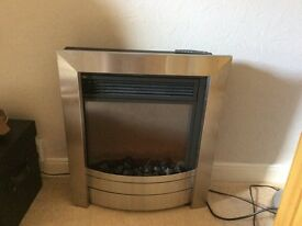 Cels electriflame inset fire with remote control.
