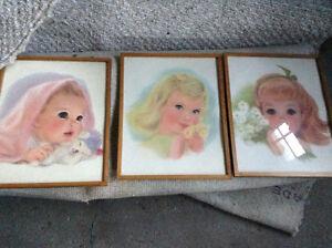 Vintage framed prints for sale London Ontario image 2