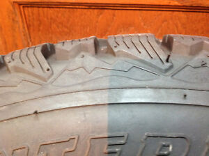Firestone Winterforce 4 Winter Tires with Rims 225/75R/15 West Island Greater Montréal image 3
