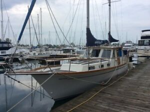 """PAMPERO"" Nauticat 36 - Motor Sailer Ketch Rigged"