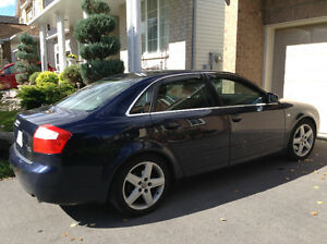 2005 Audi A4 fully-loaded for immediate sale. Price nego.