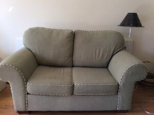 Love seat and chair--excellent condition.