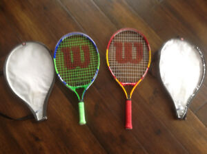 Wilson Junior Tennis Raquets
