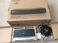 BT YouView box with BT Hub