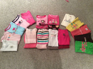Baby Girl Onesies and Outfits 6-12 months