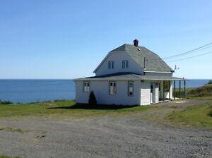 Maison en bord de mer à louer d'octobre à fin juin seulement