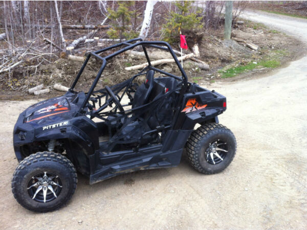 Used 2013 Pitster Pro double x