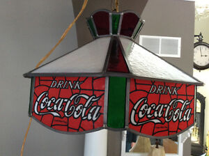 Coca Cola Tiffany Light Kitchener / Waterloo Kitchener Area image 1