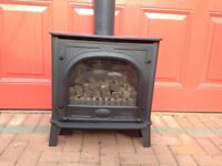Gazco Stockton Black Cast Iron Gas Stove