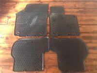 Official Volkswagen VW Golf rubber car mats