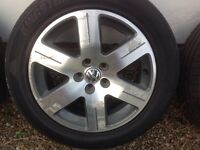 "16"" GENUINE VW BEETLE ALLOY WHEELS PCD 5X100 FITMENT"