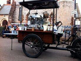 Dutch style Coffee Trike Business