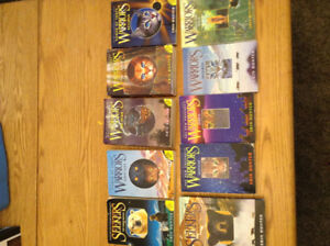 10 warrior books $20
