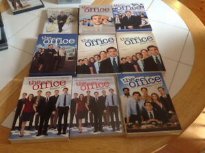 The Office TV series Dvd's