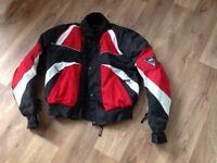Kids buffalo motor bike jacket