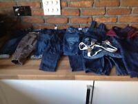 Vgc boys 9-12 months jeans/dungaree bundle