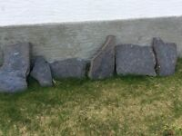 Slate all different shapes and sizes
