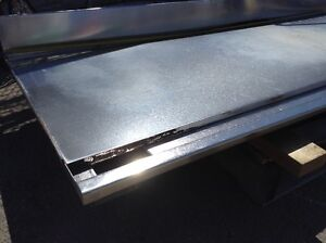 """6'X27"""" STAINLESS STEEL 1/2"""" THICK DRAINING TOP"""